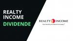 Realty Income kündigt Dividende über $0.23 an